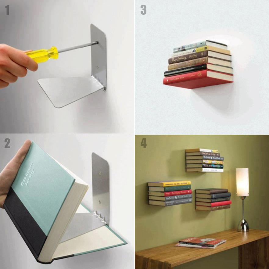 buy invisible bookshelf online in india bonzealcom - Invisible Bookshelves